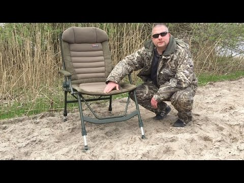 Karpfenstuhl Test | Elbe Fishing Team | Fox FX Super Deluxe Recliner