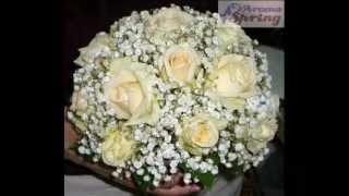 Букет из белых роз для Ольги!