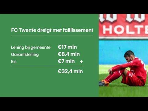 FC Twente dreigt met faillissement - RTL Z NIEUWS