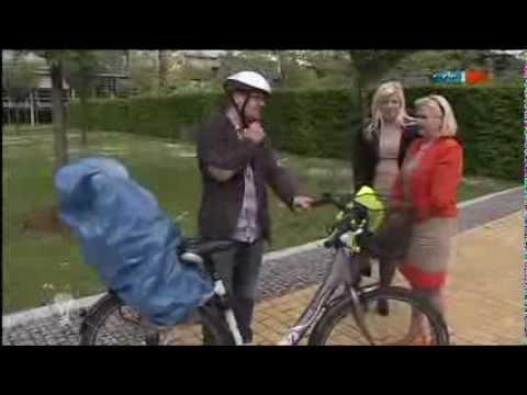 Fahrradregenschutz für Kindersitz und Sattel - MDR Einfach genial - 15.05.2012
