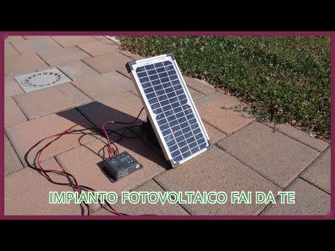 Come costruire un piccolo impianto fotovoltaico fai da te [Tutorial]