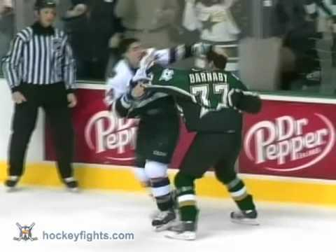 Alexandre Burrows vs Matthew Barnaby