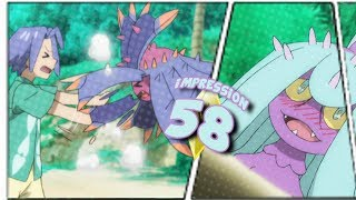 Mareanie  - (Pokémon) - ☆FIGHTING FOR LOVE! (JAMES x MAREANIE ....I guess?!) // Pokemon Sun & Moon Episode 58 Impressions☆