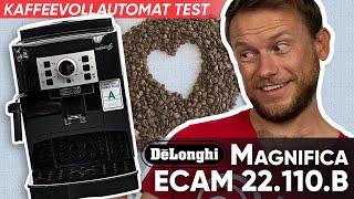DeLonghi Magnifica ECAM 22.110.B im Test   Kaffeevollautomat Update 2019
