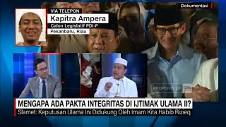 Mantan Pengacara Rizieq Shihab: Rekomendasi Ijtima Ulama I Dikhianati Prabowo