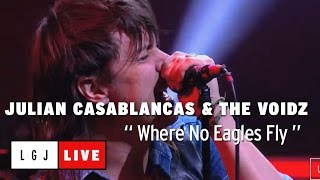 Julian Casablancas & The Voidz - Where No Eagles Fly - Live du Grand Journal