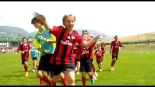 Футбольный лагернь милан