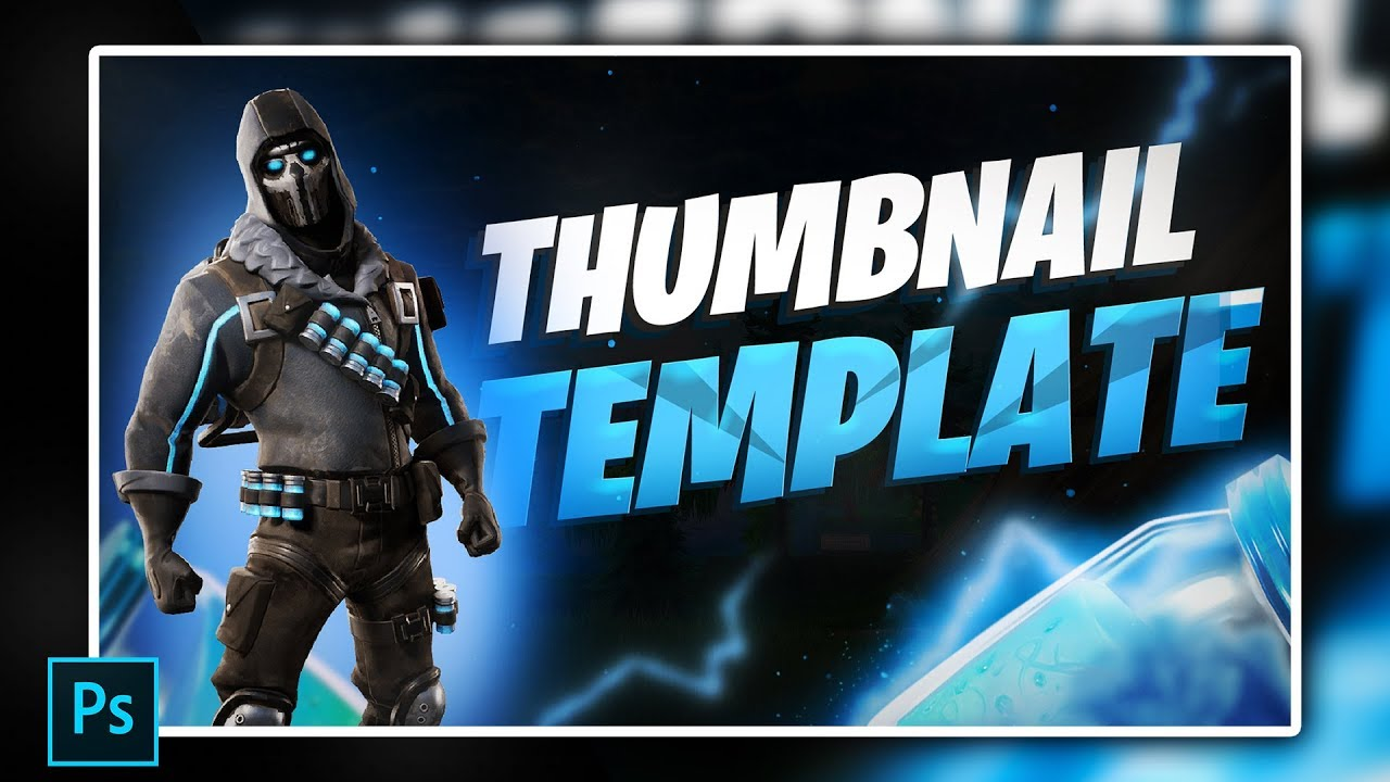 YouTube / Twitch Thumbnail  template
