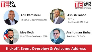 KickOff and Event Overview | TiEcon SouthWest 2020 | Virtual TiEcon