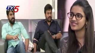 Niharika Special Interview With Khaidhi No150 Movie Team  Chiranjeevi  Ramcharan  TV5 News