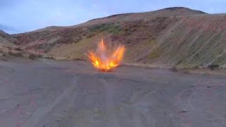 AWESOME EXPLOSIONS 10 #'S AMMONAL AND OTHER EXPLOSIVES