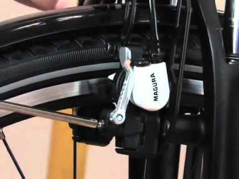 Mounting / Installation - Magura Rim Brake HS33 2005 → 2010  (English)