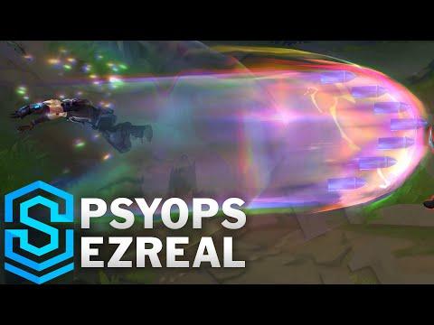 PsyOps (心理戰) 伊澤瑞爾 / 造型預覽