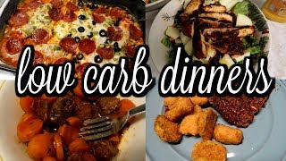 WEEK OF LOW CARB DINNERS / WHAT'S FOR DINNER