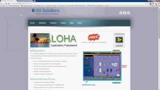 ALOHA LabVIEW Framework - 1 Introduction
