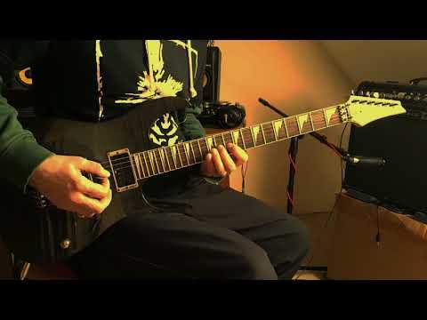 "Punková biblia - Konflikt - Intro ""posledný mohykán"" (guitar cover) full HD"