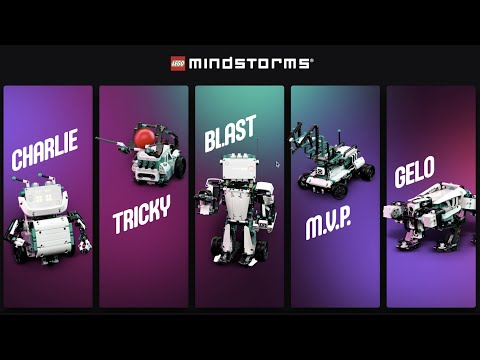 Vidéo LEGO Mindstorms 51515 : Robot Inventor