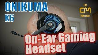 ONIKUMA K6 Test: On-ear Gaming Headset (Hands-on, Deutsch)