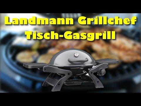 Landmann Grillchef 12058 Tischgasgrill - Bester Tisch Gasgrill ?