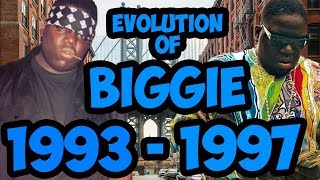 The Evolution Of Notorious B.I.G. 1993   1997 (Biggie Smalls) Timeline Fan Point Of View
