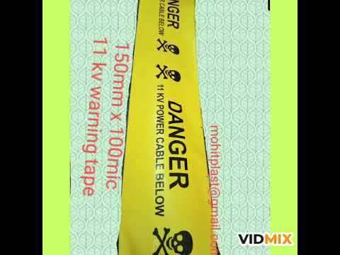 Industrial Warning Tape