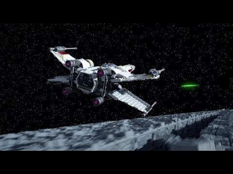 Vidéo LEGO Star Wars 75218 : Chasseur stellaire X-Wing Starfighter