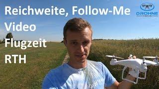 | Teil 2 | Potensic Drohne Test: Reichweite, Follow-Me. Tapfly, Flugzeit