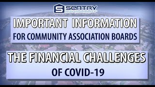 Association Boards May Face Financial Challenges Due to COVID-19
