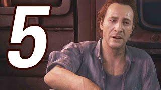 Uncharted 4: A Thiefs End Gameplay Walkthrough Part 5 - CRAZY PRISON ESCAPE!