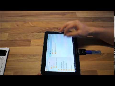 USB  und SD Adapter für das Samsung Galaxy Tab 10 1