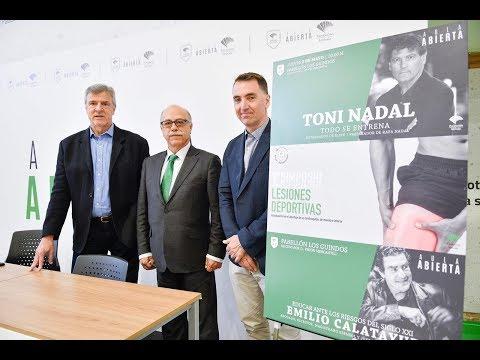 Toni Nadal abrirá en Málaga el 'Aula Abierta Unicaja Baloncesto'