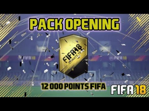 FIFA 18 / MON PREMIER PACK OPENING 12 000 POINTS FIFA ULTIMATE TEAM #EP1