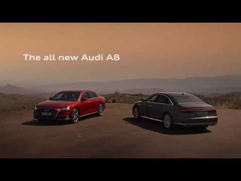 Audi  A8 Long Седан класса F - рекламное видео 4