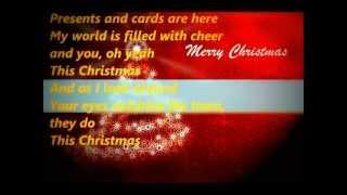 "Video thumbnail of ""Cee Lo Green - this Christmas - lyrics"""