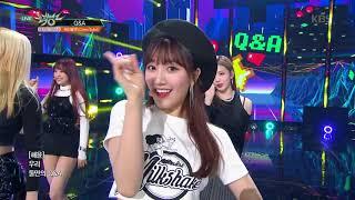 뮤직뱅크 Music Bank - Q&A - 체리블렛 (Cherry Bullet) .20190222