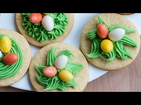 Sugar Cookie Nests Recipe