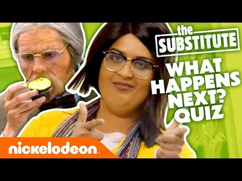 GUESS WHAT HAPPENS NEXT! 😆 Ft. Lilly Singh & Jace Norman on The Substitute | #KnowYourNick