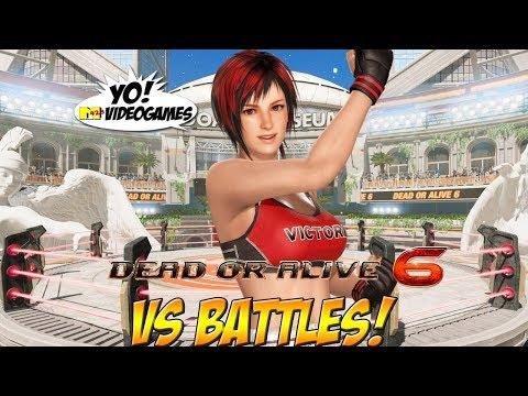 Dead or Alive 6! Vs Battles! Part 1 - YoVideogames