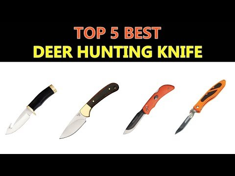 Best Deer Hunting Knife 2019
