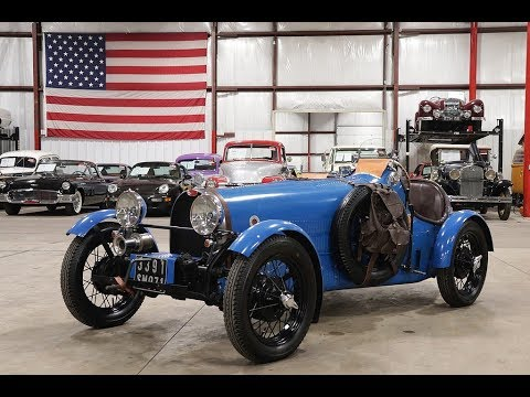 Video of Classic 1925 Bugatti Type 35 located in Kentwood Michigan - $27,900.00 - P93G