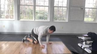 体幹を安定させて股関節の可動域を広げる「ヒップオープナー」