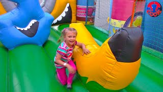 Outdoor Playground for kids Family Fun Play Area   Baby Nursery Rhymes Songs