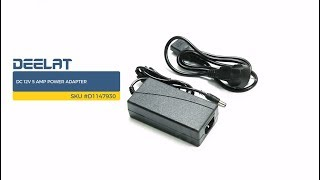 DC 12V 5 Amp Power Adapter     SKU #D1147930