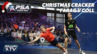 Squash: Farag v Coll - Full Match - British Open 2019 -  Christmas Cracker