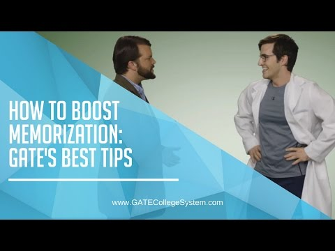 How to improve memorization: GATE College System's hot tips