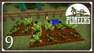 Minecraft Mods: The Pioneers 1.8.9 Modpack   Resourceful Crops   E9 (Modded SSP)