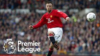 The Legend Of David Beckham At Manchester United | Premier League | NBC Sports