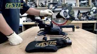 GMC Instructional: DB305SMS Mitre Saw
