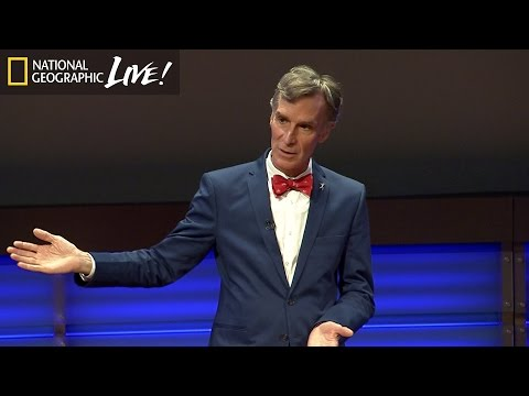 Climate Change Through Bill Nye's Eyes | Nat Geo Live