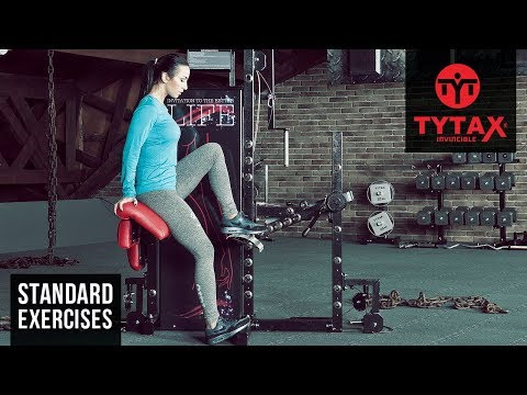 Lever Seated Single Leg Press | TYTAX® S6